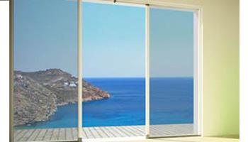 σίτες αλουμινίου παραθύρων πορτών
