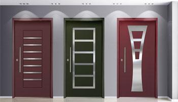 INOX-πόρτες-εισόδου