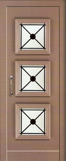 πορτες εισόδου αλουμινίου