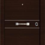 Πόρτες ασφαλείας Laminate Inox (1)